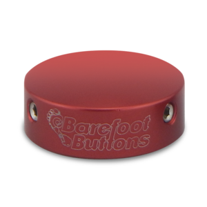 BAREFOOTBUTTONS  베어풋버튼 V1 RED (10mm)